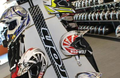 Vente d'accessoires moto et d'équipements motards à Moto Garage Chemillé