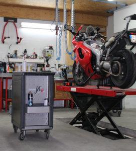 Atelier répération toutes marques de moto garage chemillé