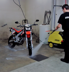 station de lavage a moto garage chemille