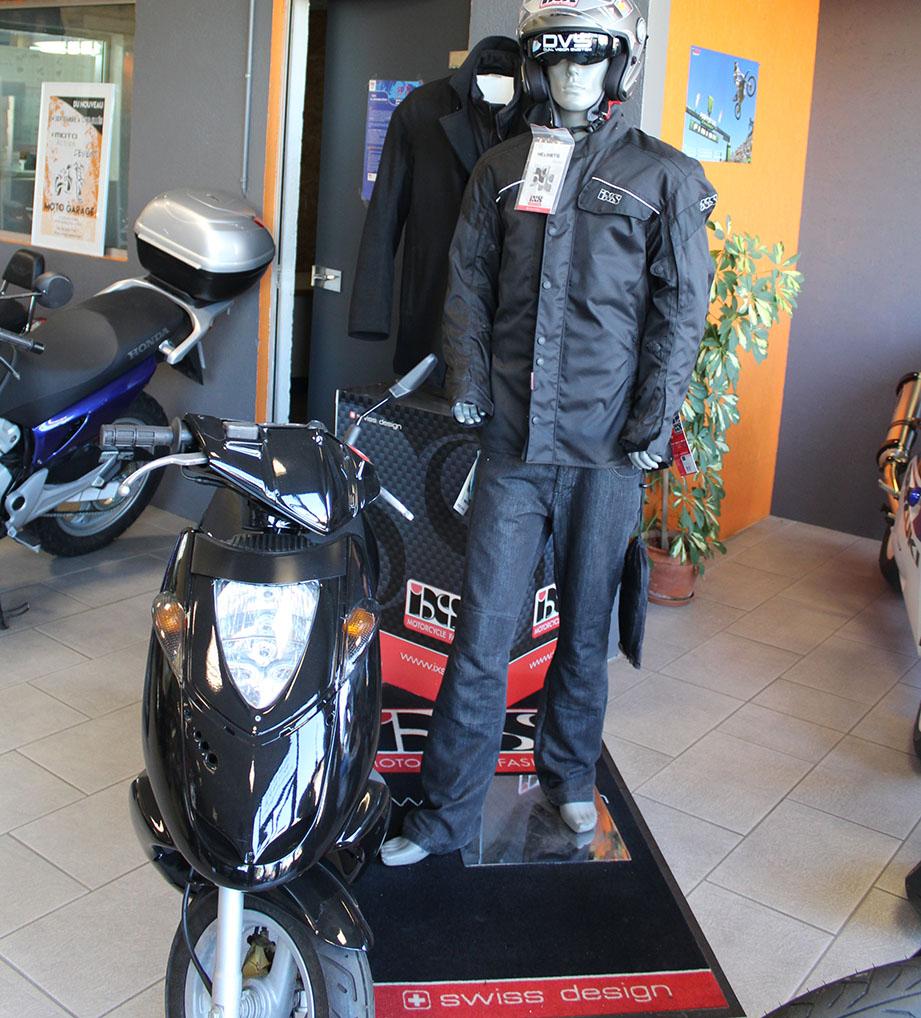 vente de scooters neufs et d'occasions toutes marques à Moto Garage Chemillé