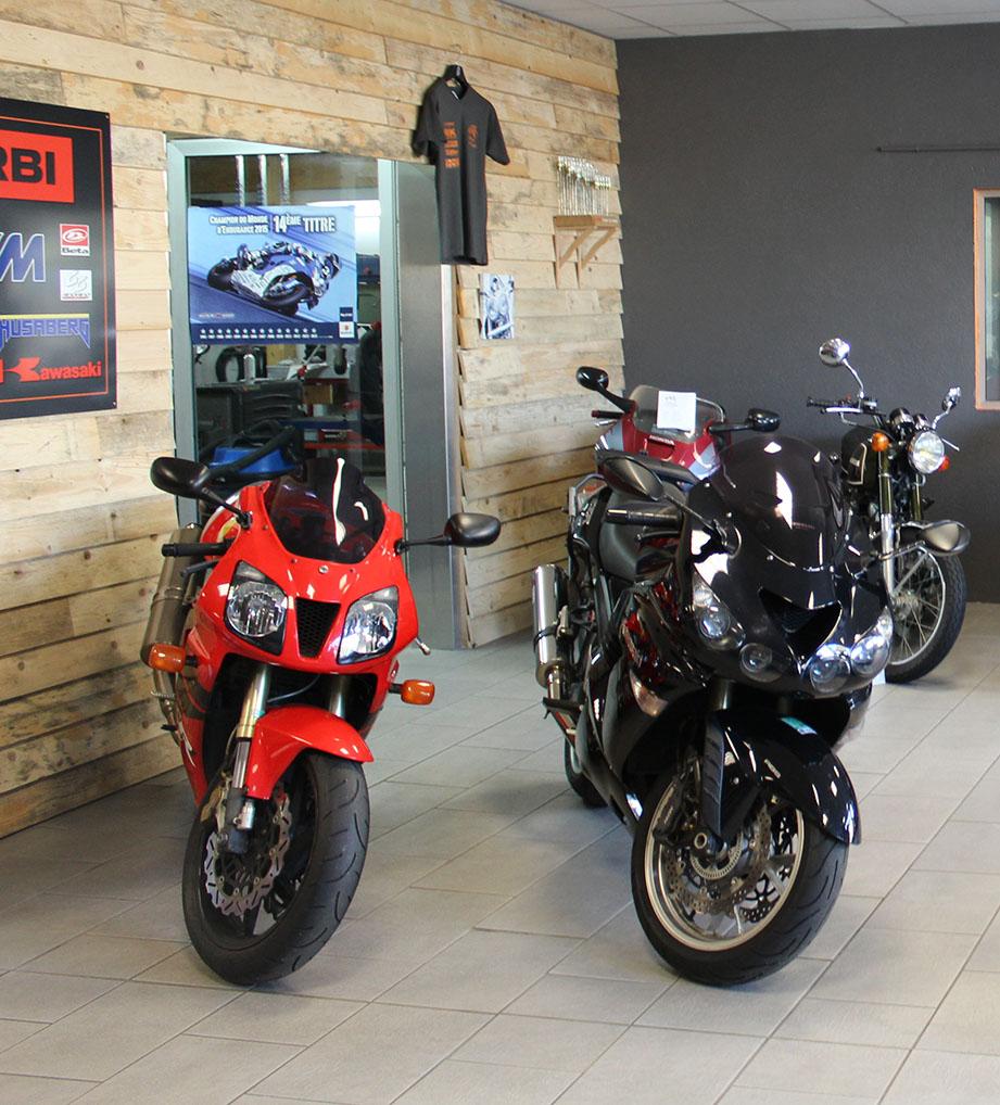vente de véhicules toutes marques à Moto Garage Chemillé