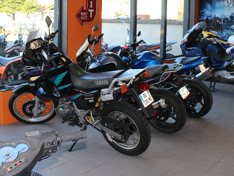 vente de motos trails pour tout terrain à Moto Garage Chemillé