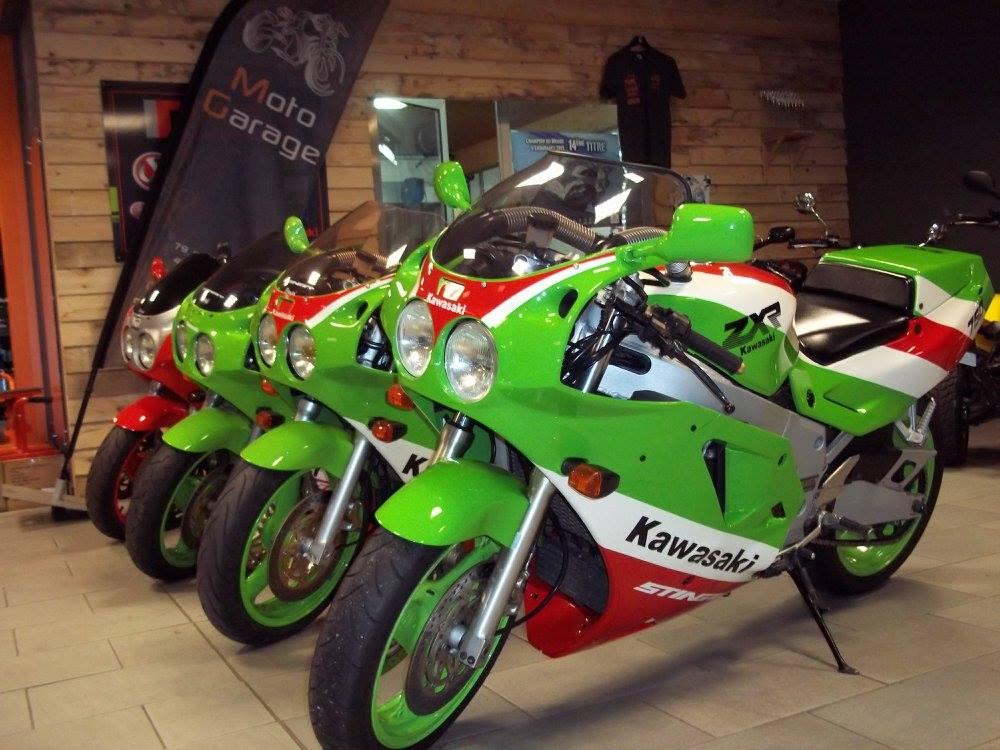 vente de motos sportives à Moto Garage chemillé dans le Meine-et-Loire