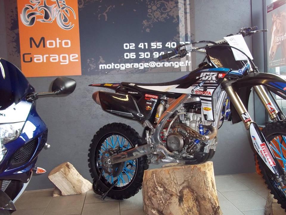 vente de moto cross à Moto Garage Chemillé