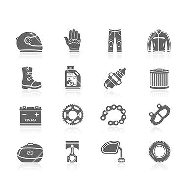 vente d'accessoires et d'équipements pour moto, scooters et quads de toutes marques à Moto Garage Chemillé